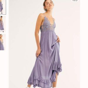 NEW Free People Adella Maxi Slip Dress Size M